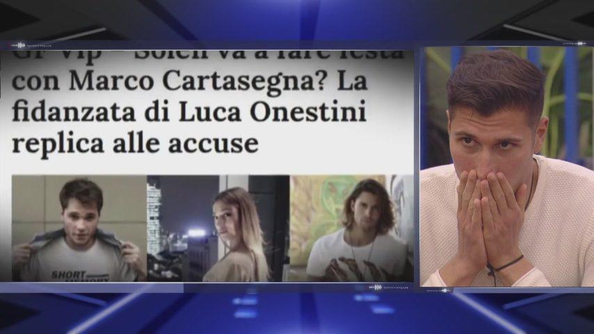 """GF, Gianmarco Onestini parla di Soleil Sorge: """"All'Isola hanno capito tutti che persona è"""""""