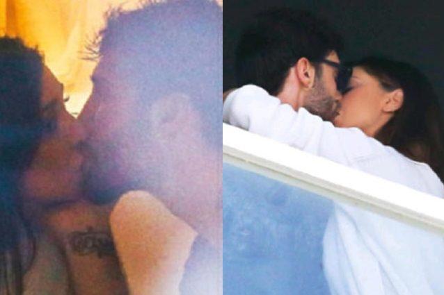 Baci tra Belen Rodriguez e Stefano De Martino, il ritorno di fiamma è finalmente ufficiale