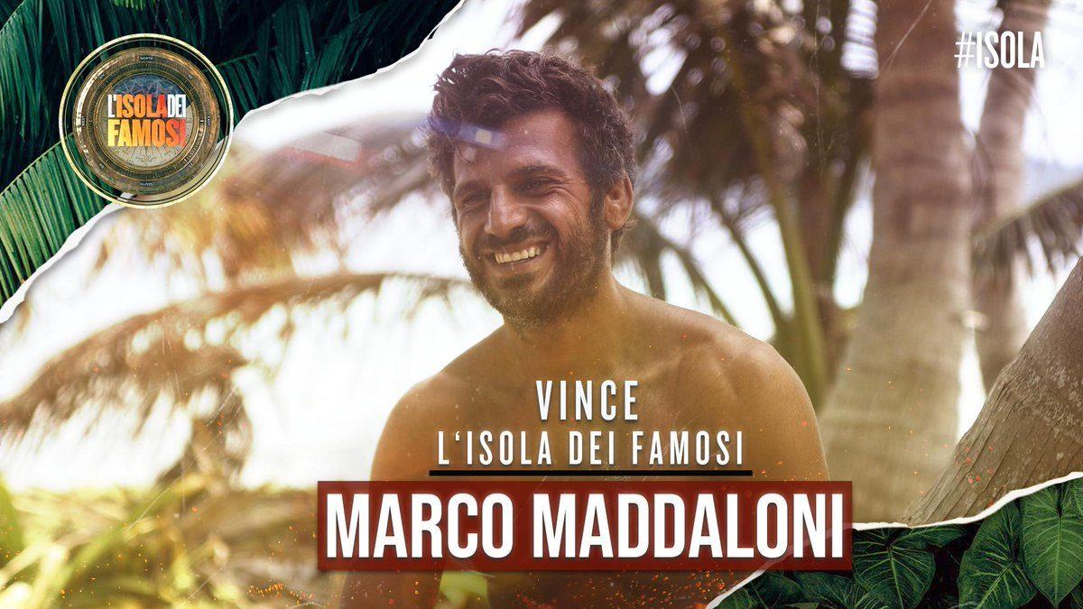 La finale dell'Isola dei famosi dell'1 aprile 2019, il vincitore è Marco Maddaloni
