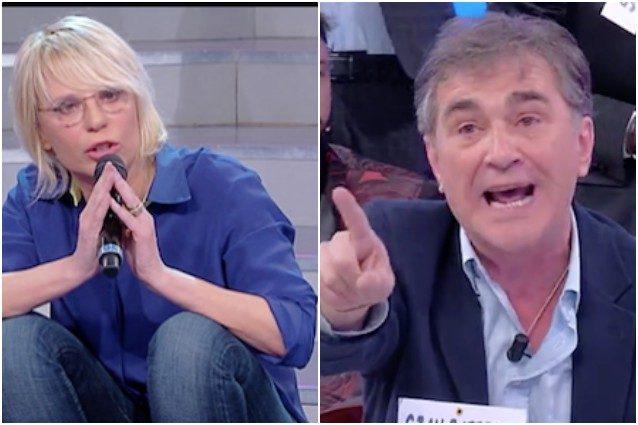 Maria De Filippi caccia Gian Battista da Uomini e Donne: il video della standing ovation in studio