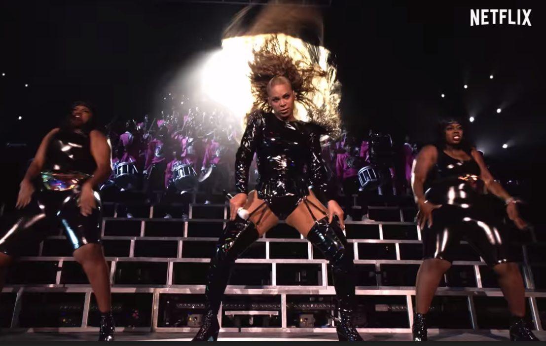 """""""Homecoming"""", su Netflix il film che racconta l'epico concerto di Beyoncé al Coachella 2018"""
