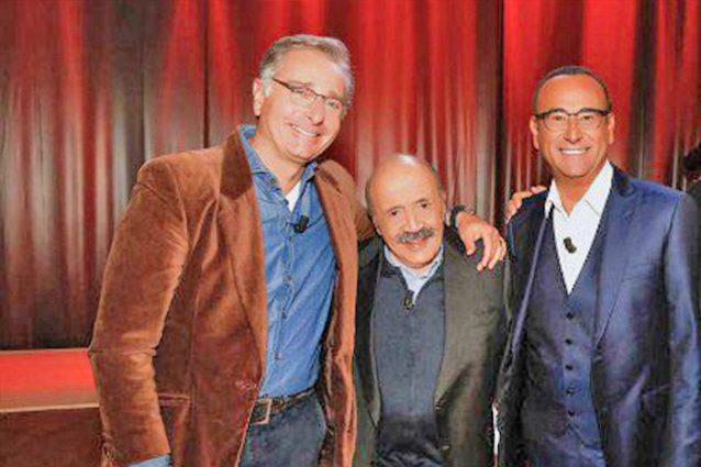 """Paolo Bonolis e Carlo Conti rivali ma non troppo: """"Tra noi non c'è uno che asfalta l'altro"""""""