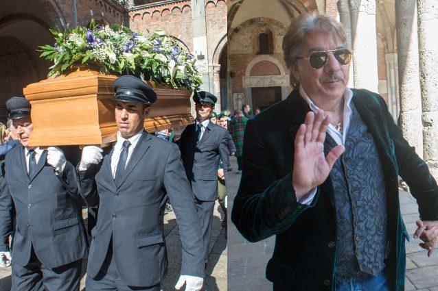Folla di star tv e politici ai funerali di Cesare Cadeo: l'ultimo saluto al conduttore
