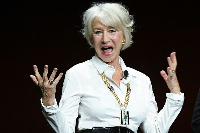 """Fanc**o Netflix"", Helen Mirren e le star contro il colosso di film in streaming"
