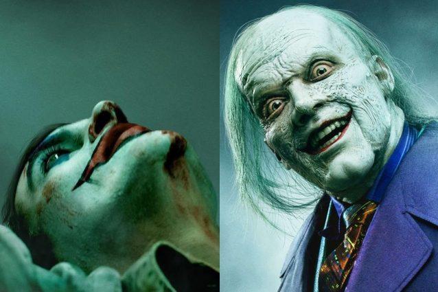 Joker a confronto: il poster del film con Joaquin Phoenix e la prima foto dalla serie Gotham