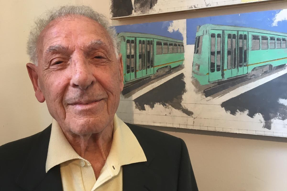 La storia di Emanuele Di Porto: si nascose in un tram per sfuggire ai nazisti