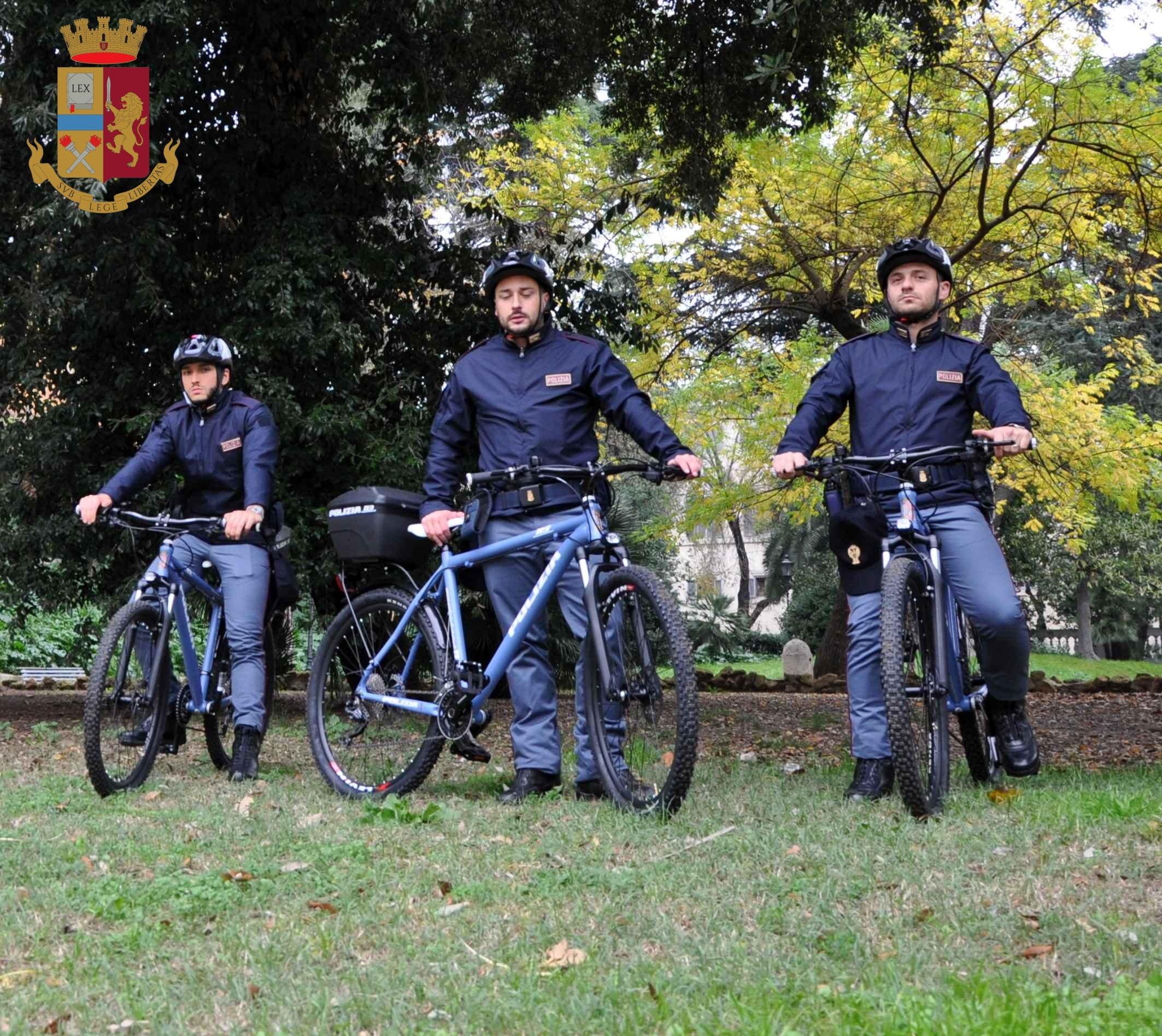Maniaco sessuale arrestato a Villa Borghese dai poliziotti bikers