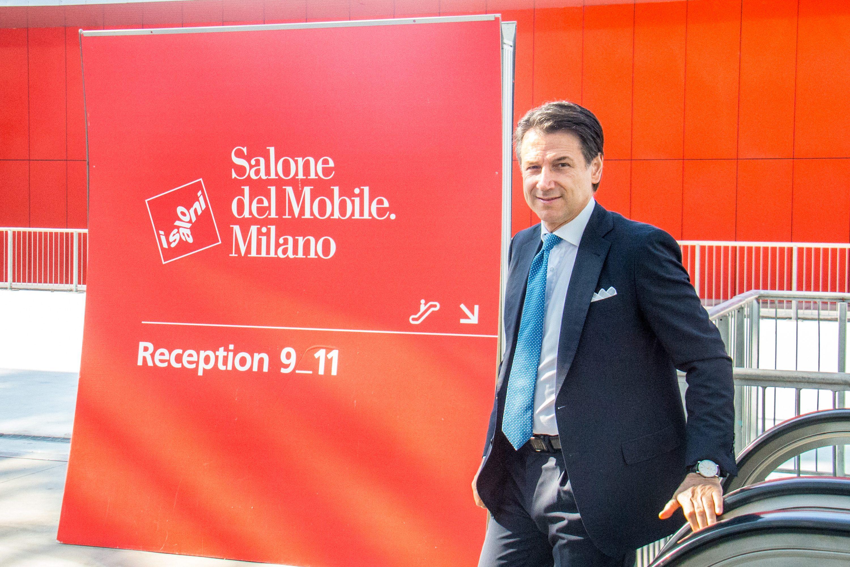 Al via il Salone del Mobile 2019: l'inaugurazione con il premier Conte e il sindaco Sala
