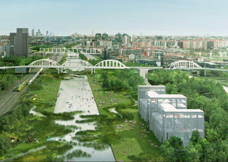 Milano, un grande bosco e un lago: ecco come saranno gli ex scali ferroviari Farini e San Cristoforo