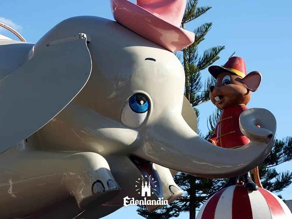 La storia della giostra Dumbo di Edenlandia, donata dalla Disney al parco giochi di Napoli