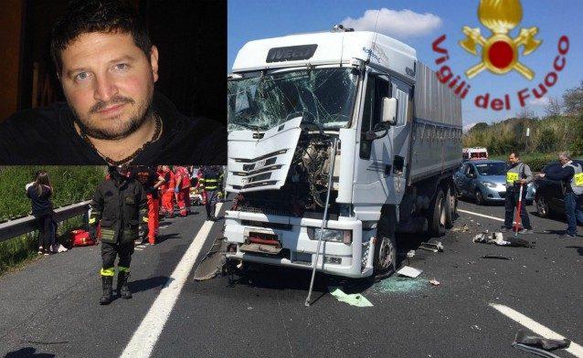 """Incidente sull'A1 a Zagarolo, parla Augusto: """"Così ho salvato i bambini"""""""