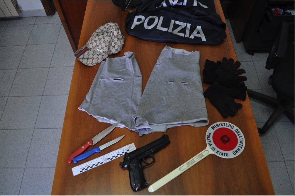 Marcianise, tentano rapina a una stazione di servizio: polizia ferma banda di giovanissimi