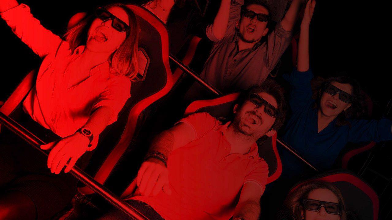 Ad Amsterdam ha aperto un cinema a luci rosse in 5D con sedili in movimento e getti d'acqua