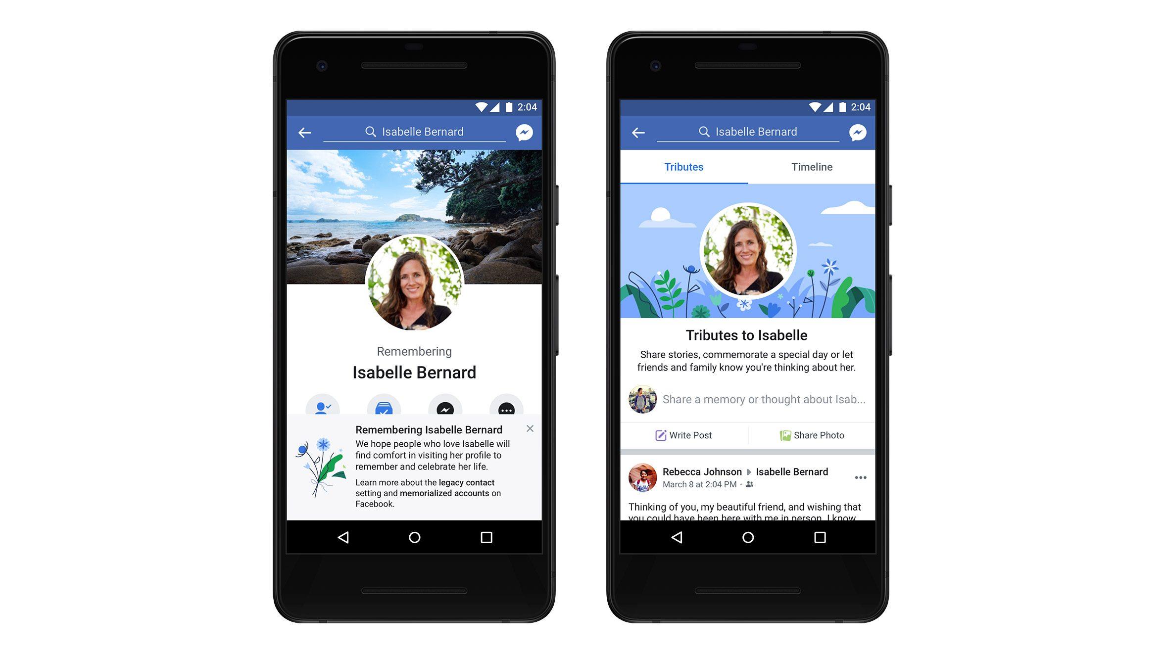 Facebook, da oggi i profili dei deceduti hanno una sezione dedicata ai ricordi degli amici