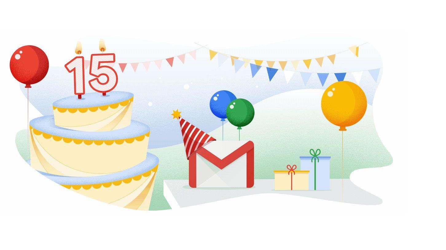 Gmail compie 15 anni e lancia la composizione automatica dei messaggi