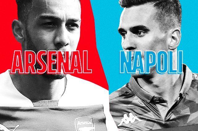 Europa League, Arsenal-Napoli, risultato finale 2-0