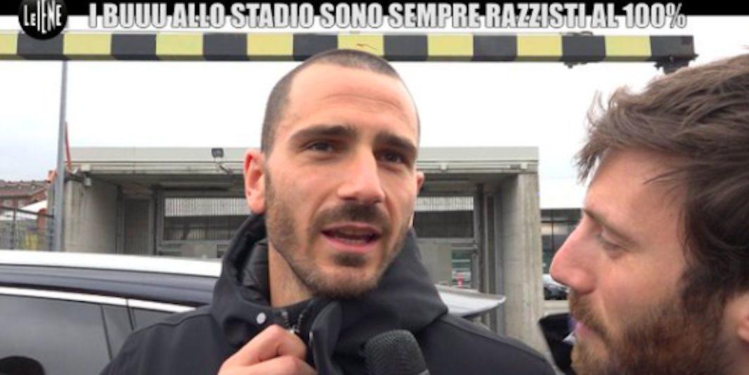 """Juventus, Bonucci: """"Chiedo scusa a tutti, il razzismo non deve esistere al 100%"""""""