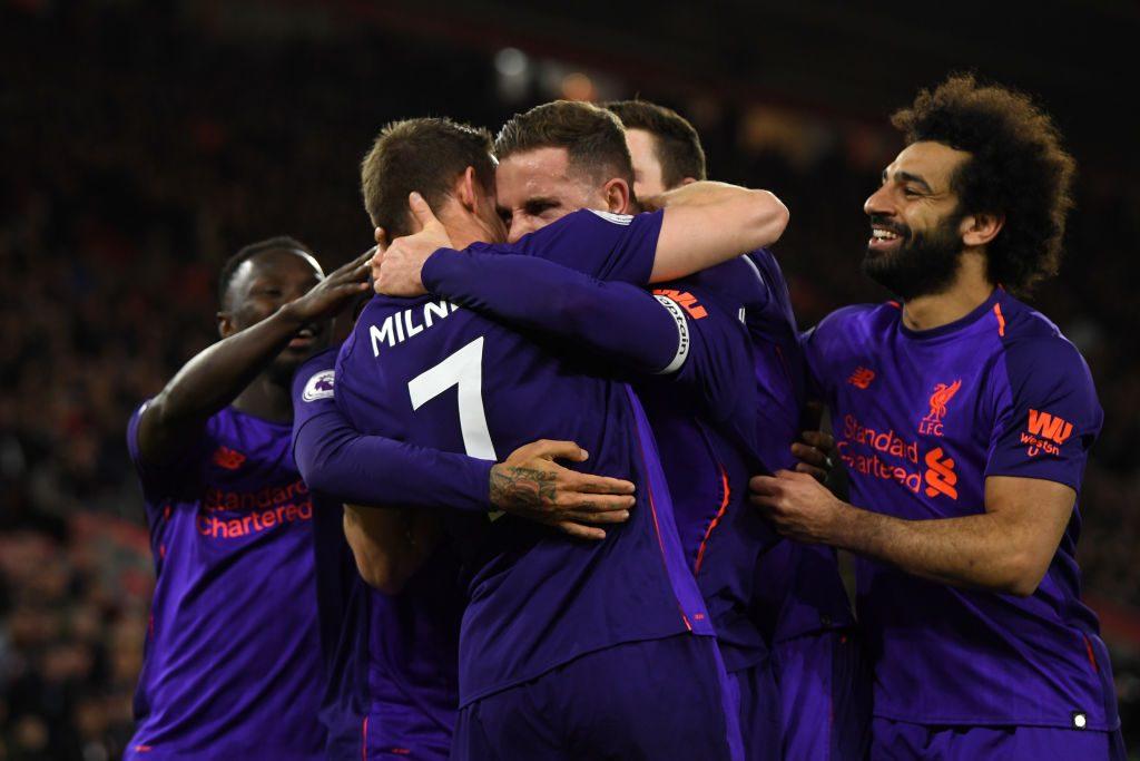 Premier, controsorpasso Liverpool: i Reds vincono a Southampton e tornano in testa