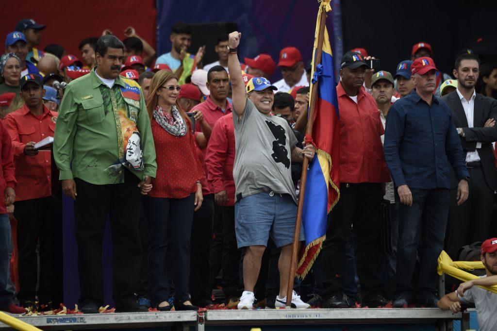 Maradona, multa salata in Messico per le dichiarazioni pro Maduro e anti Trump