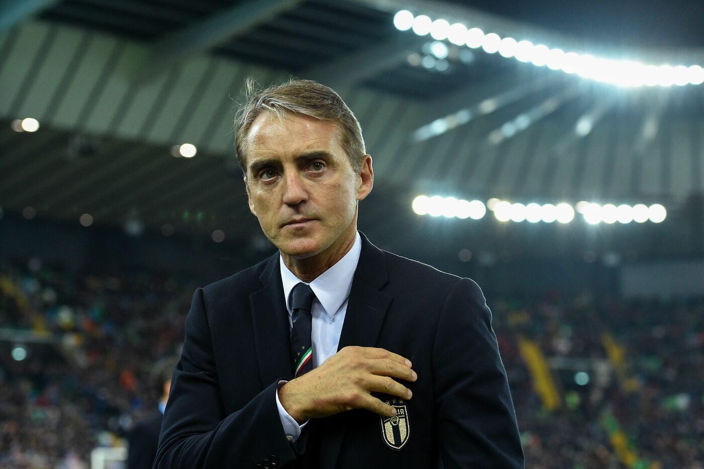 """Mancini: """"Balotelli in Nazionale? Dipende da lui. Quagliarella merita l'azzurro"""""""