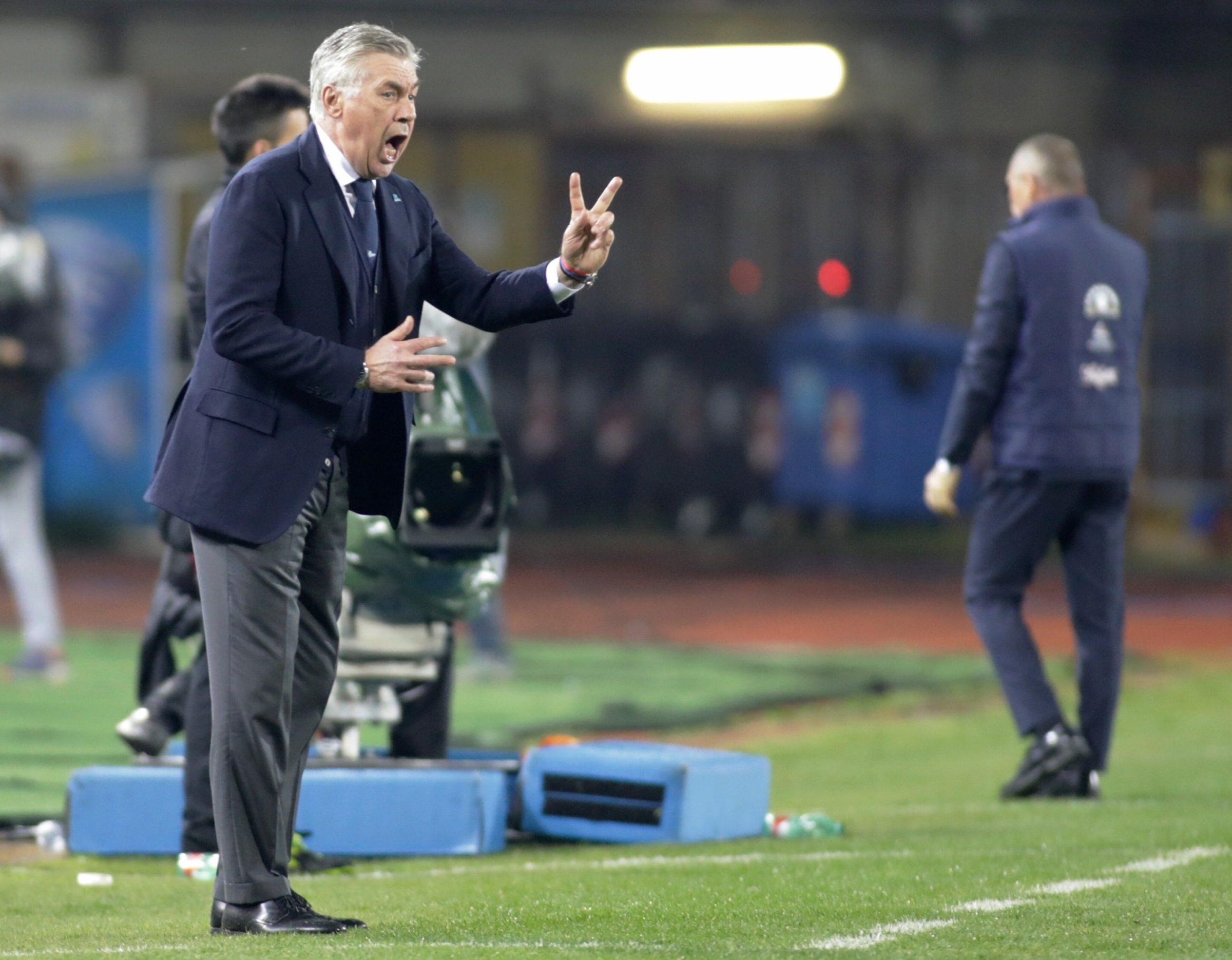 """La rabbia di Ancelotti: """"Brutto Napoli, a Empoli non c'era con la testa"""""""