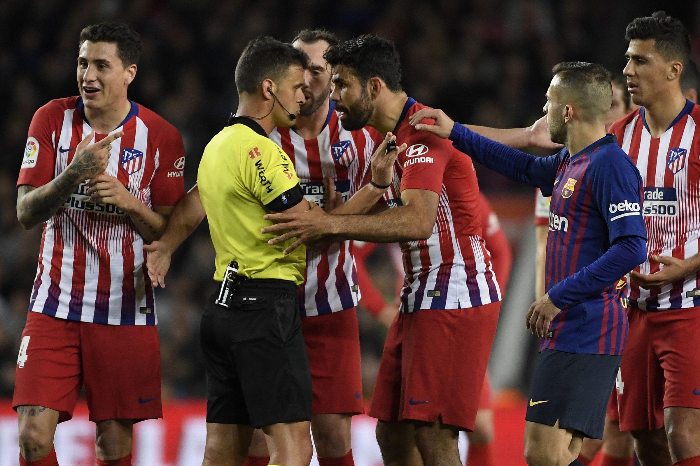 Atletico Madrid, Diego Costa rischia una squalifica tra le quattro e le dodici giornate