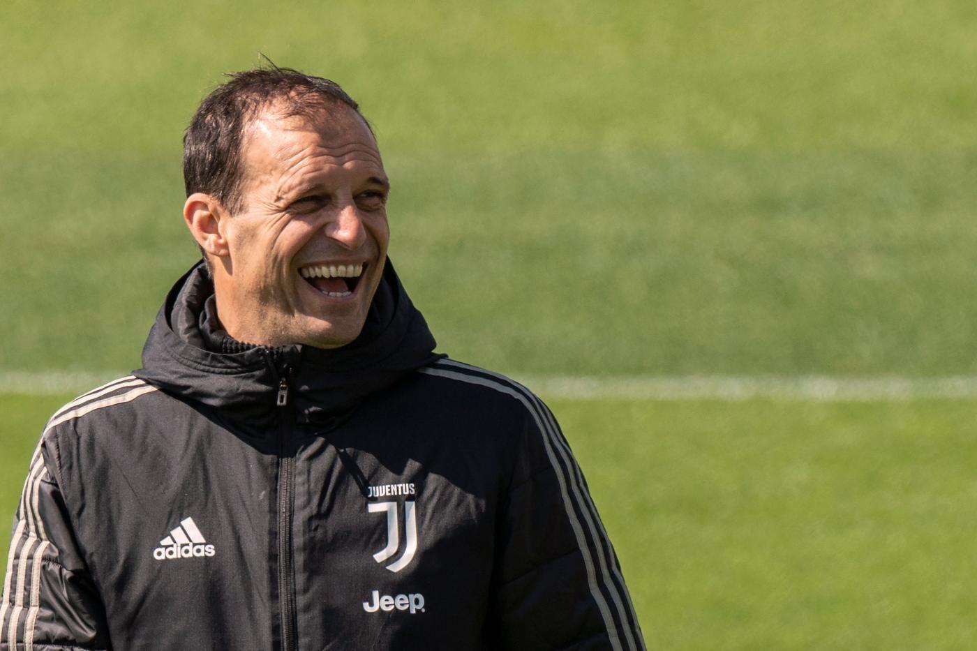 """Allegri: """"Cristiano Ronaldo titolare in Ajax-Juventus. Giocherà anche Rugani"""""""