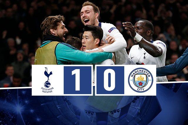 Champions, Son segna anche al City: al New White Hart Lane è festa Tottenham