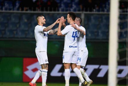 """Icardi esulta sui social: """"Forza Inter"""" e festeggia con Perisic"""