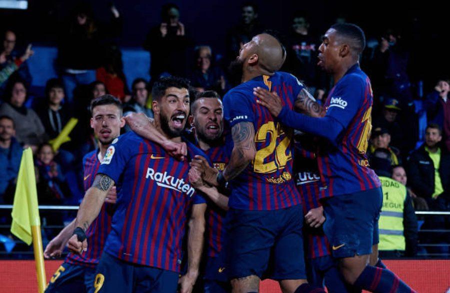 Folle Barcellona, 4-4 con il Villarreal: nel recupero segnano Messi e Suarez