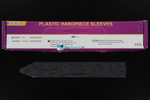 FHS PLASTIC HIGH SPEED HANDPIECE SLEEVES 20,3x2,5cm (500st)