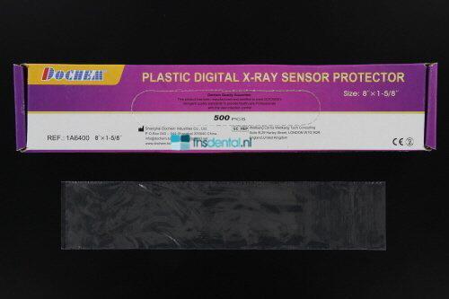 FHS PLASTIC SENSOR SLEEVES 20,3x4,1cm (500st)