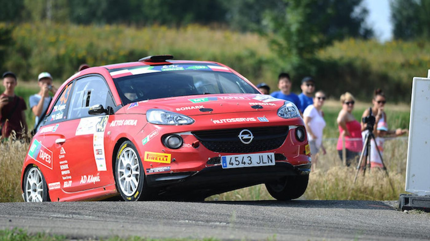 ERC Junior Kupec calls on rallying community to help injured brother