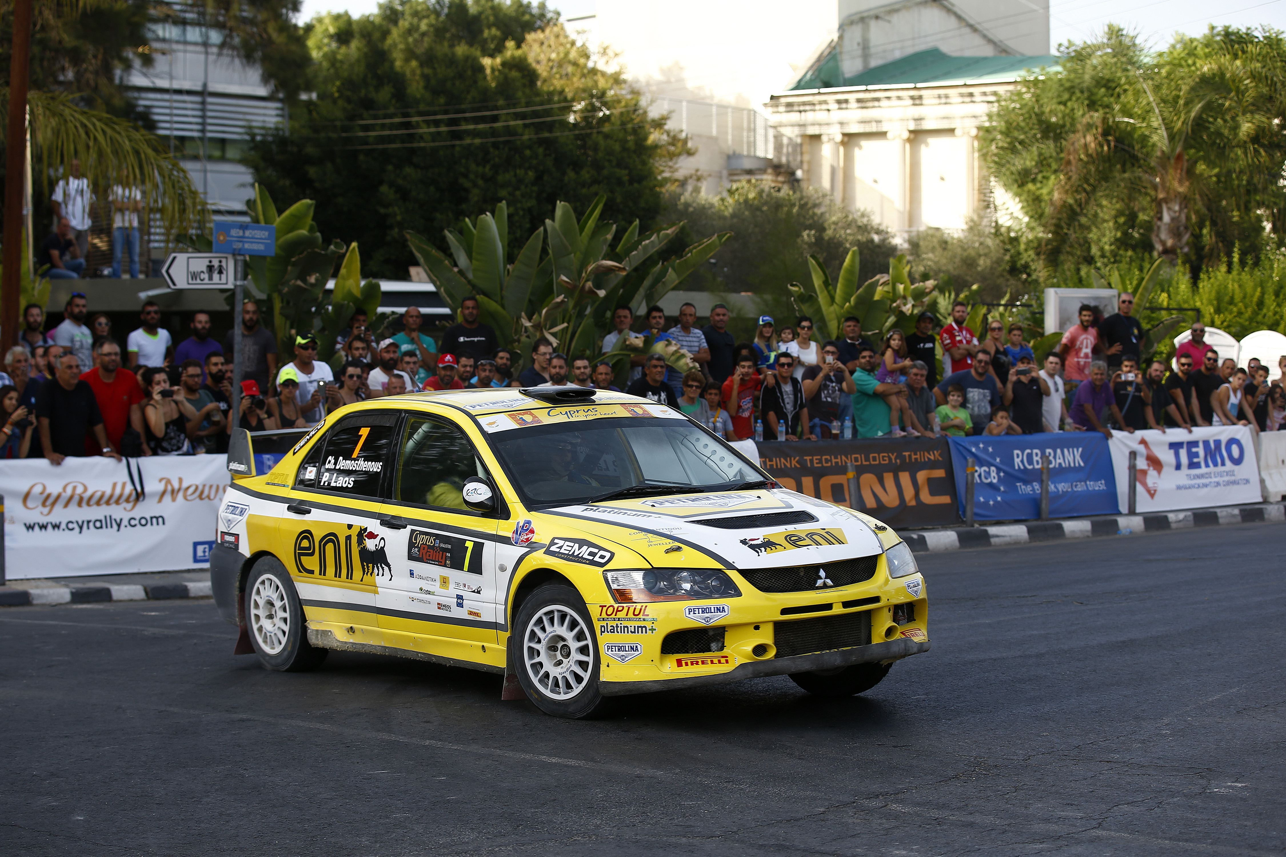 Demosthenous nears class hat-trick in ERC2