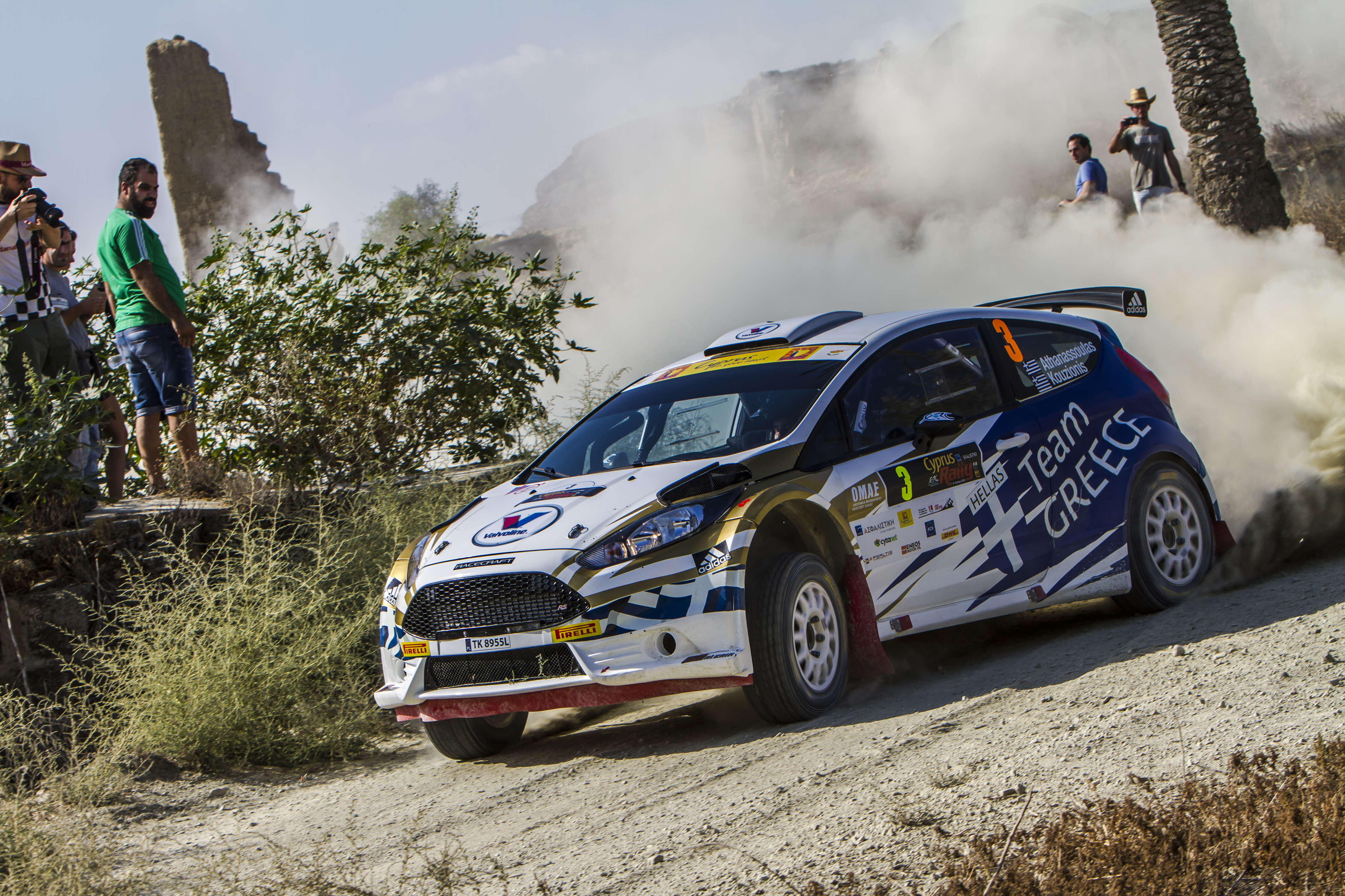 After SS4: Issues for Athanassoulas on ERC Cyprus Rally