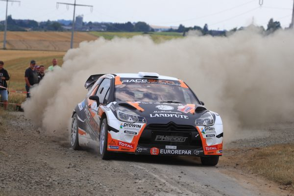 World Rally Car Chance For Erc Junior Champion Griebel Fia Erc