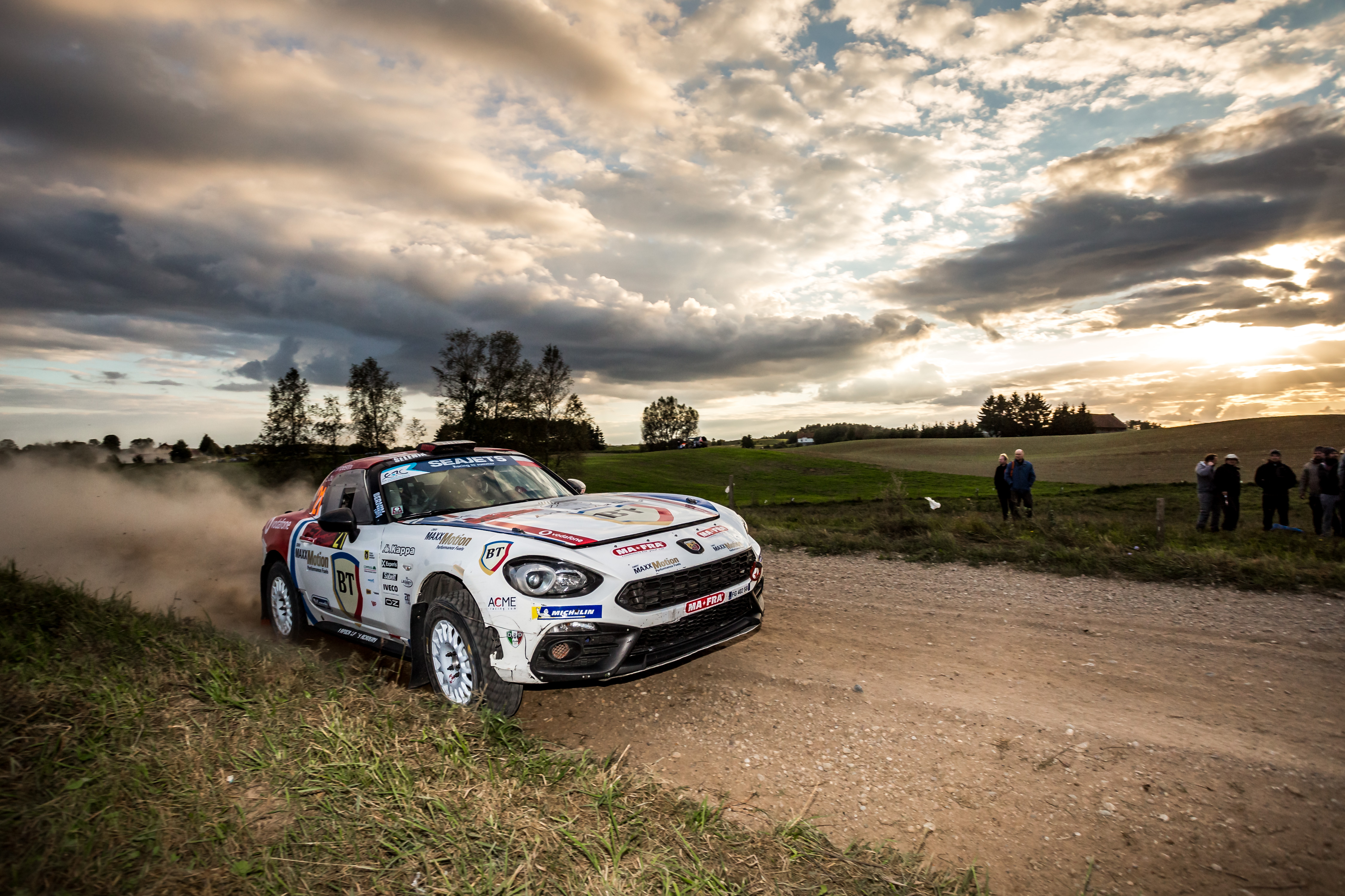 "L'Abarth Rally Cup ""donne une nouvelle dimension"" aux rallyes ERC"