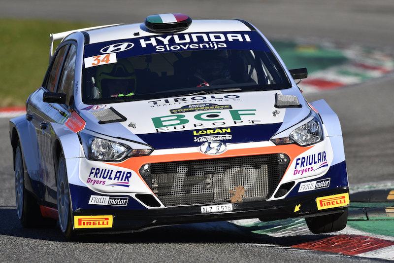 Rossi gagne au général et l'ex-champion ERC Rossetti en R5 à Monza