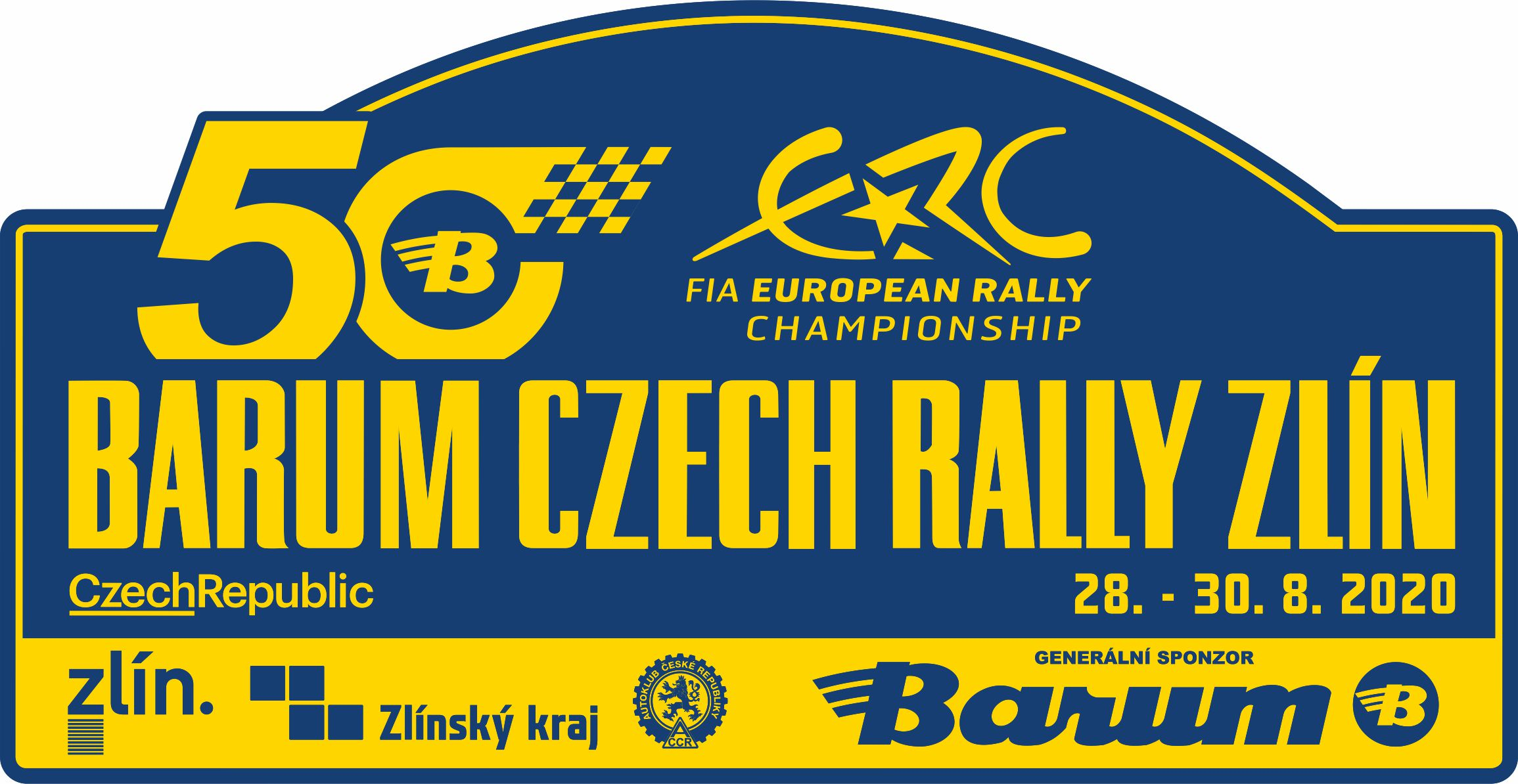 Proud to be turning 50 in the ERC: Logo for Zlin's half-century revealed