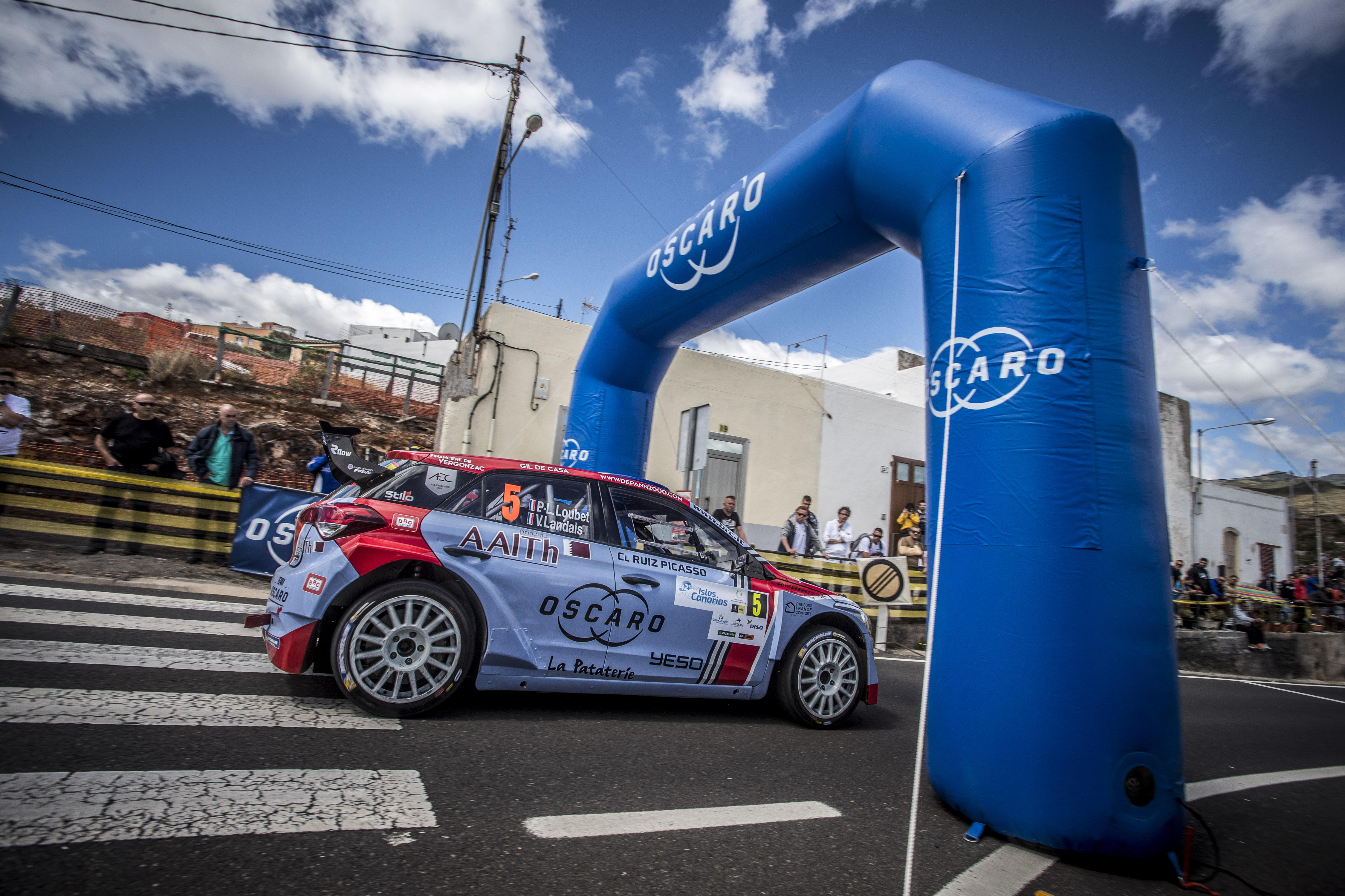 New stages for ERC Rally Islas Canarias