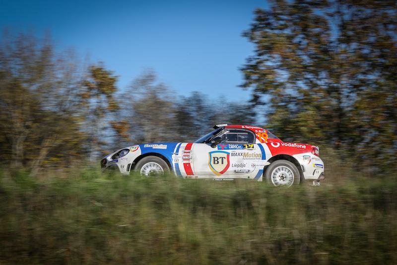 """Dans 100 jours, un Rallye de Liepāja qui """"va de l'avant avec succès"""" en ERC"""