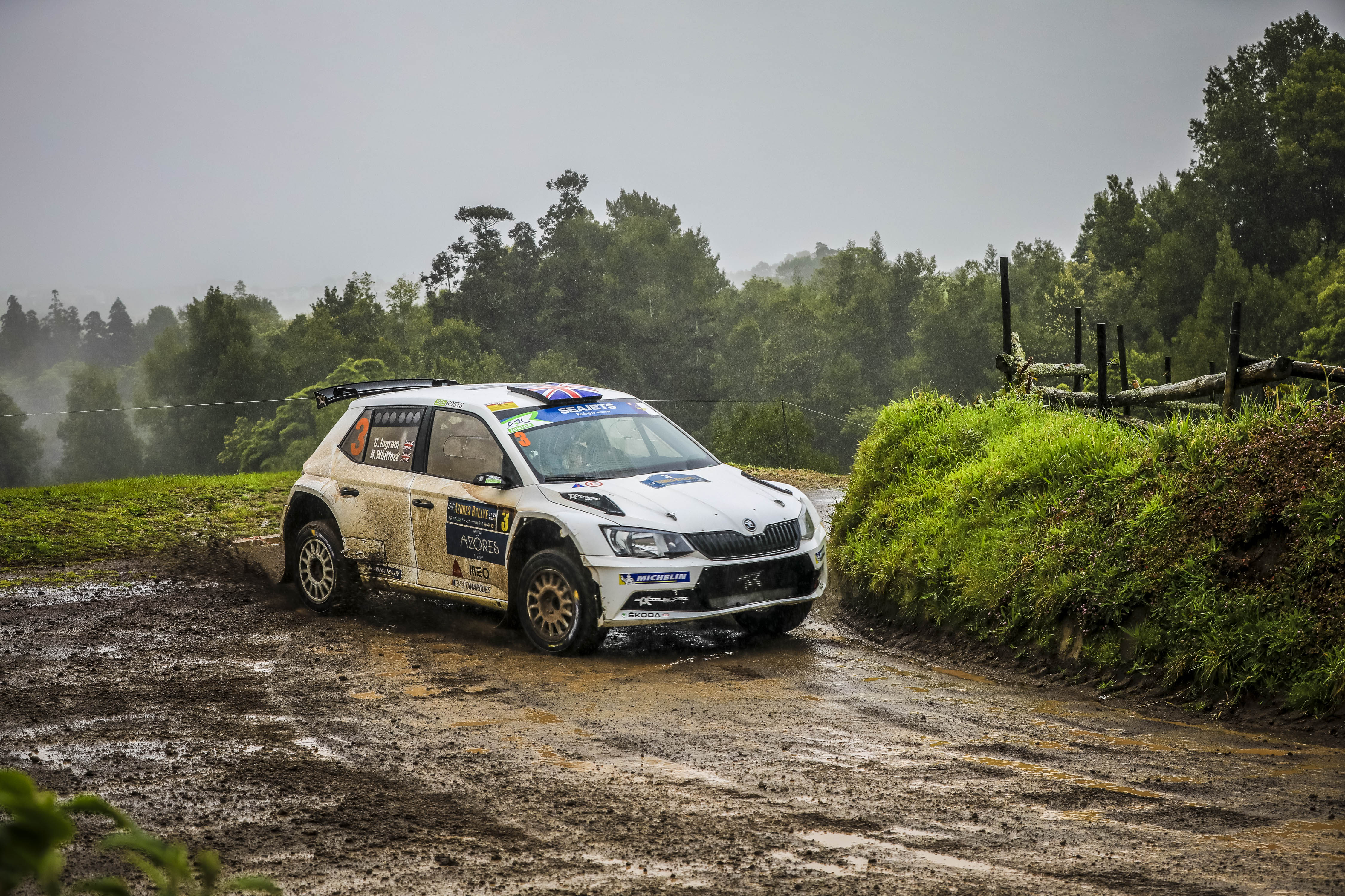 ERC1 Junior: Ingram heads Toksport 1-2