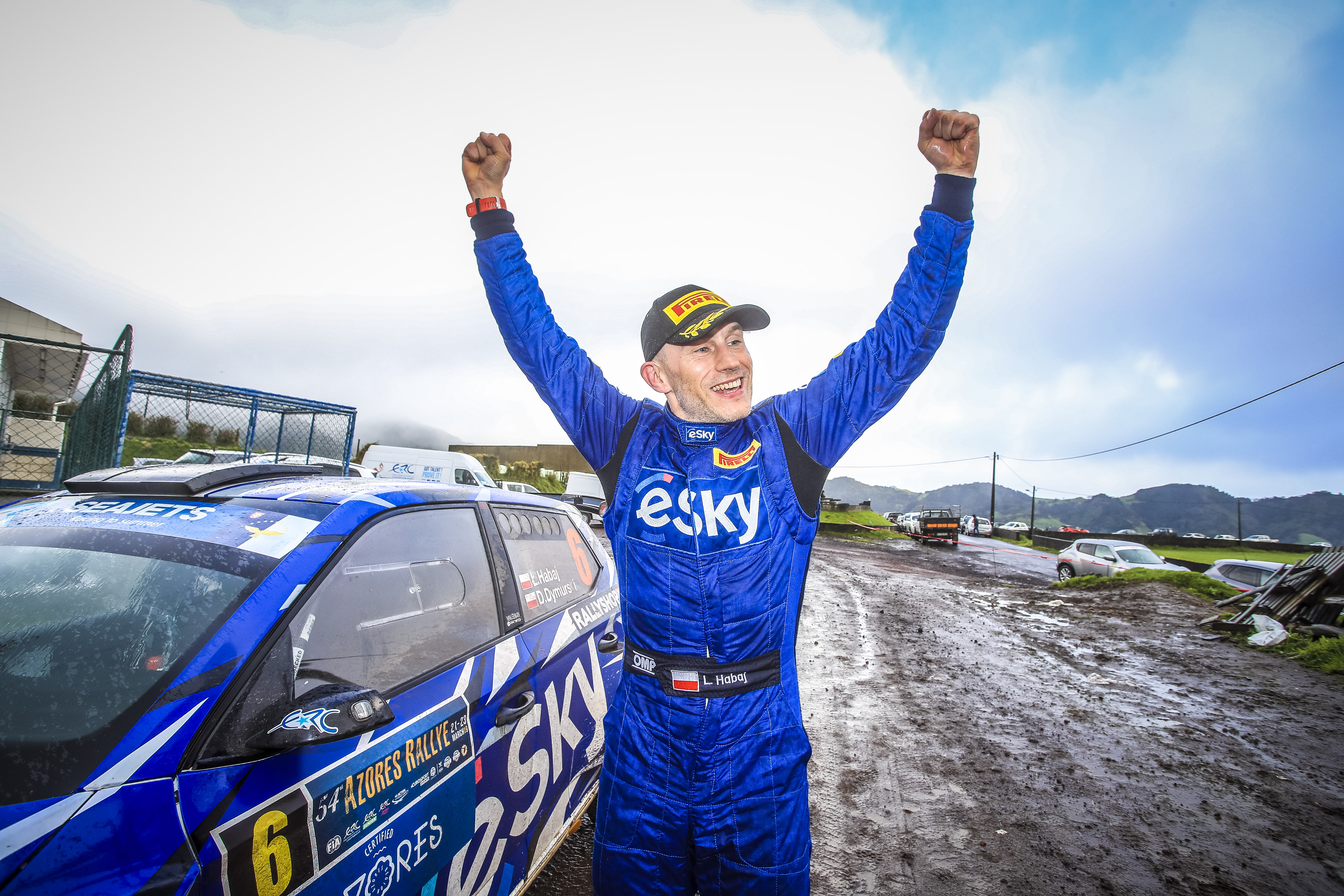 Habaj scores maiden ERC win on the Azores Rallye