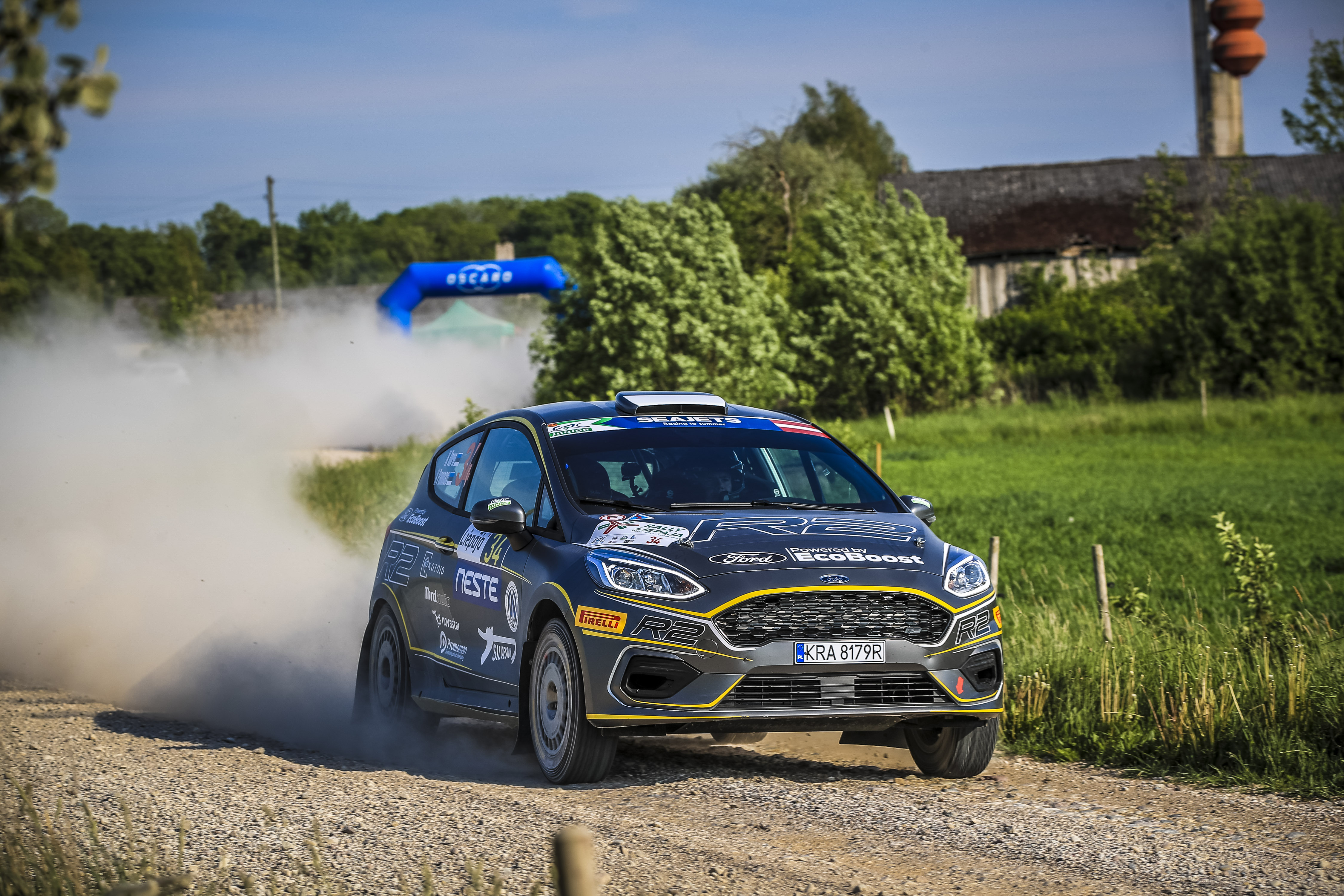 Torn opens a lead in tight ERC3 Junior battle