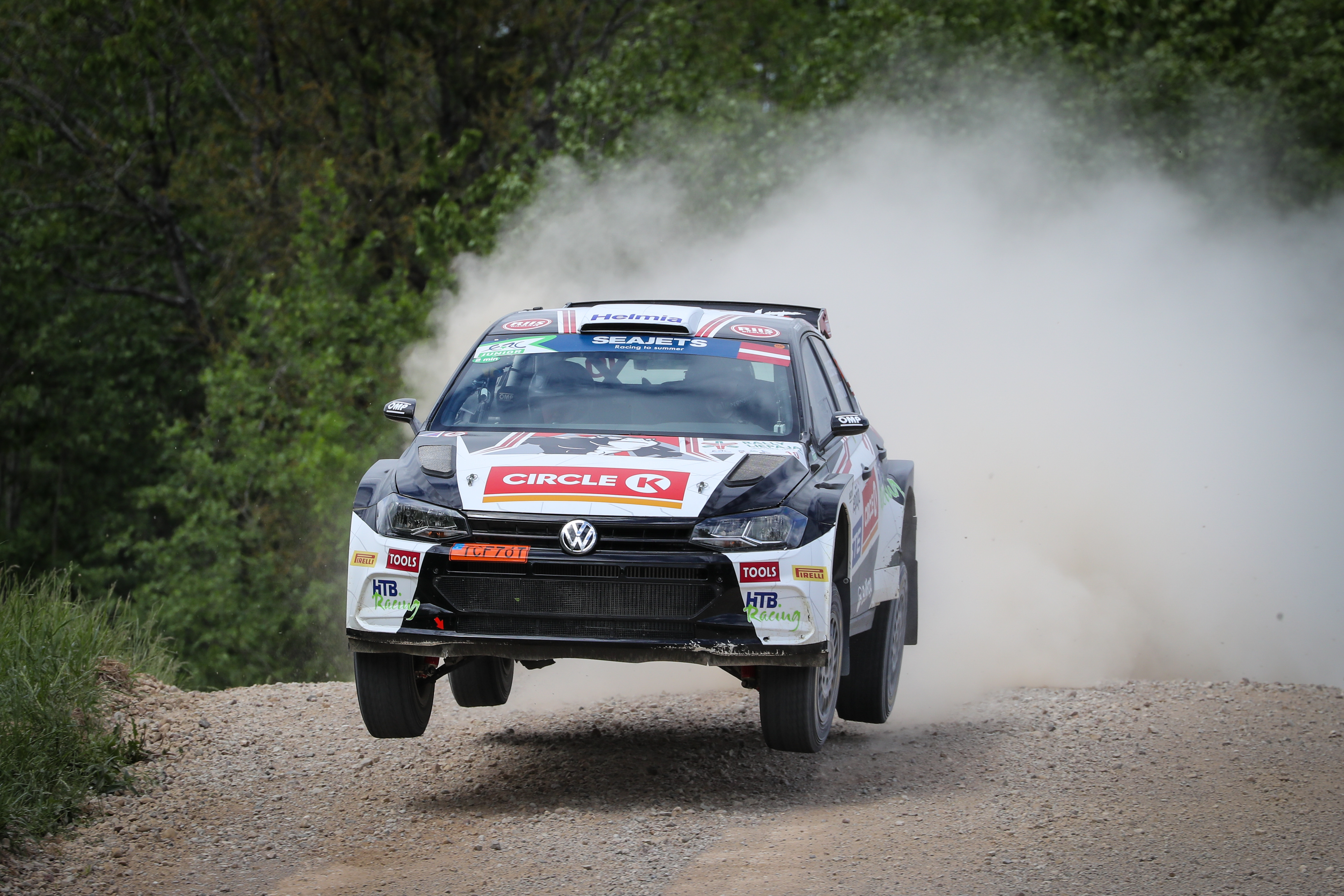 Solberg still strong on final day of ERC Rally Liepaja