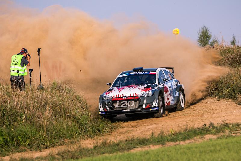 Huttunen punta al vertice al Rally Poland