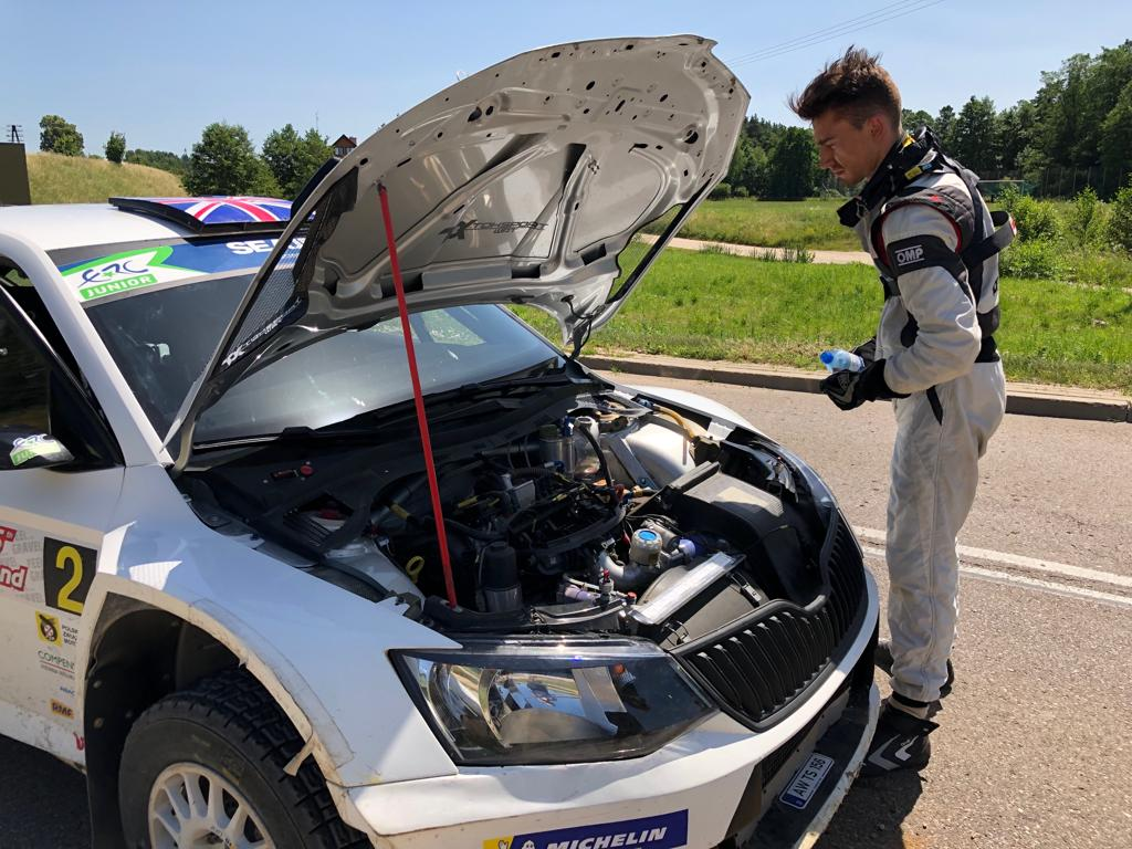 Water leak ends Ingram's ERC recovery drive