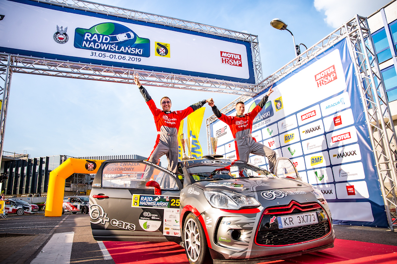 Zbroja steps up to the ERC at home
