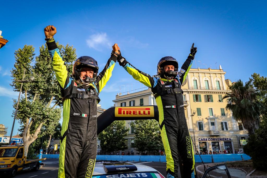BREAKING NEWS: Basso takes his 19th ERC win on Rally di Roma Capitale