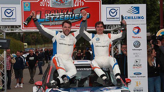Et de trois pour le double champion ERC Junior Griebel